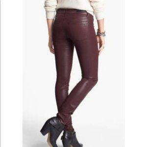 Articles of Society Mya Coated Skinny Jeans